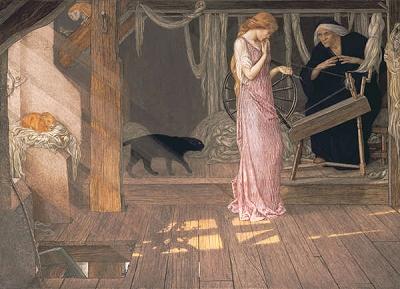 """""""Спящая красавица"""" - """"La bella addormentata nel bosco"""" (Rosaspina), сказка на итальянском языке"""