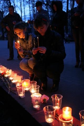 Бобруйчане скорбят по жертвам терракта в минском метро