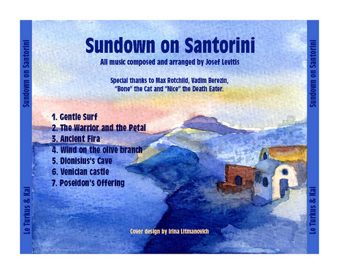Album Sundown on Santorini by Josef Levitis