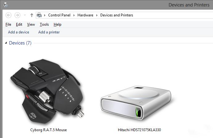 Cyborg R.A.T.5 Mouse