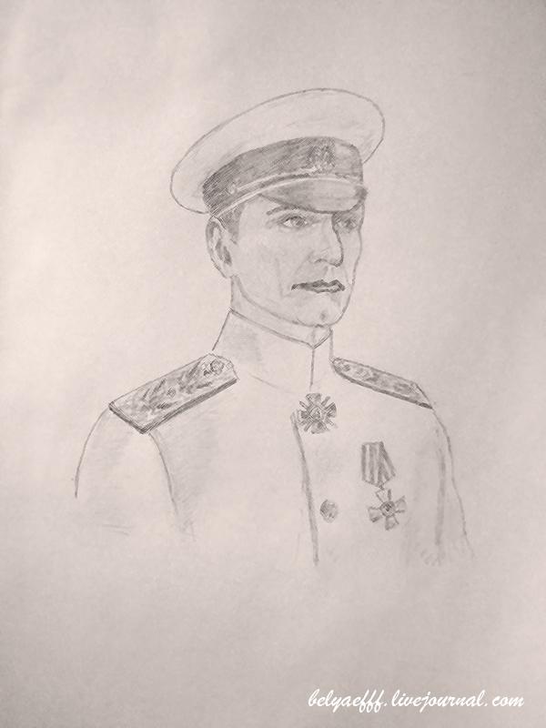 Большой портрет колчака портретист