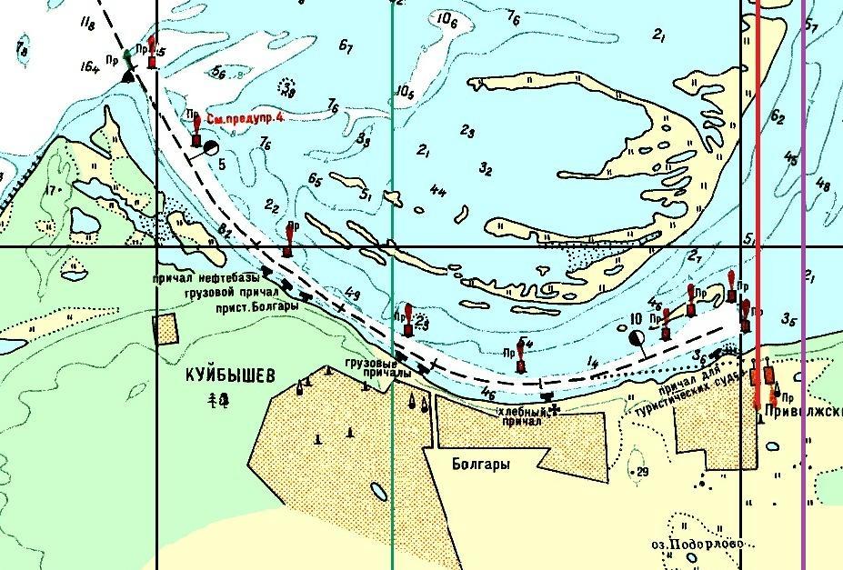 Голая пристань археологические карты