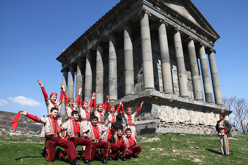Вірменія. Храм Мітри в Гарні