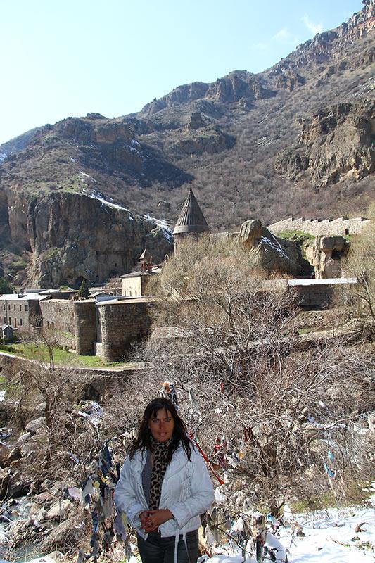 Вірменія. Монастир Гегард