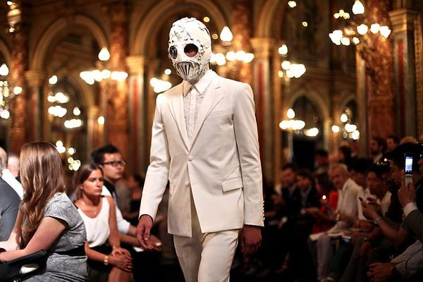 Givenchy/Bob Basset's masks