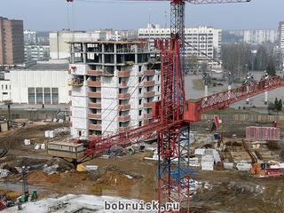 В Бобруйске - строительный бум!