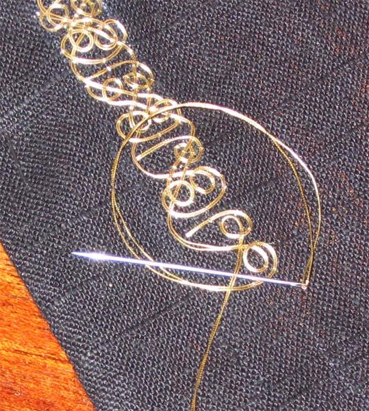 Золотая нить вышивка нижний