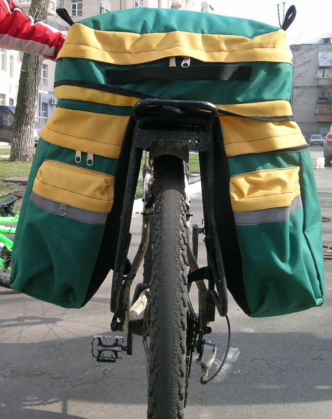 Рюкзак на велосипед своими руками 95