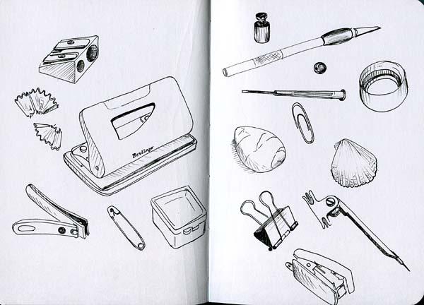 Как быстро рисовать предметы