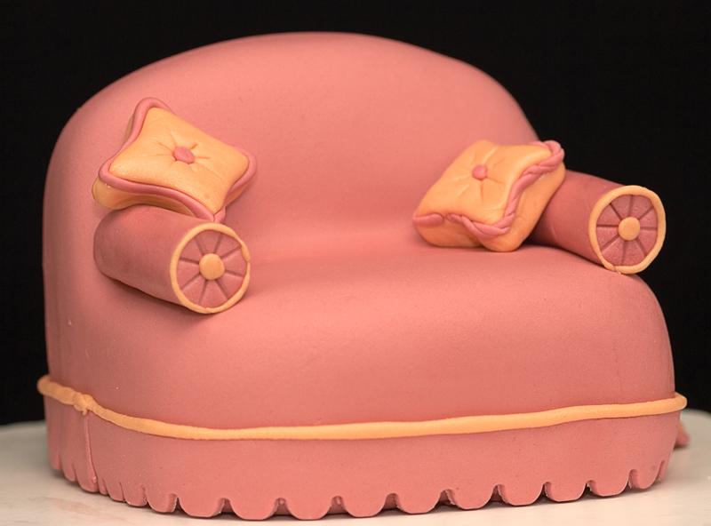 Торт диван фото