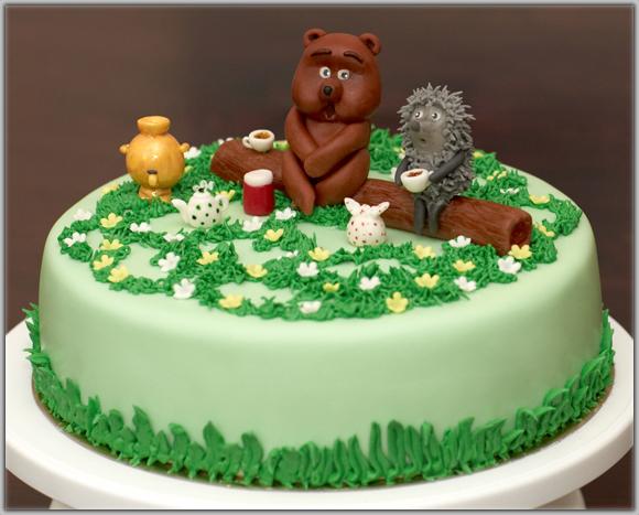 торты для детей из маршмеллоу для дня рождения