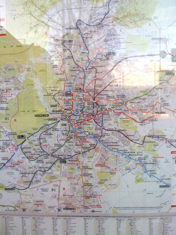 решения мадридского метро