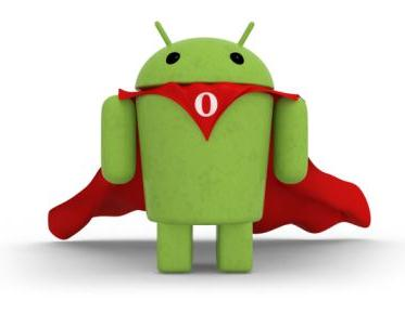 android robot alone