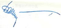 Неизвестная подпись из письма И. А. Ефремову от 9 апреля 1962 г.