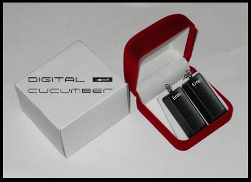 DIGITAL CUCUMBER - серьги Enter