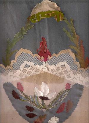 Блог.ру - curiosita - Картинки из лоскутков.