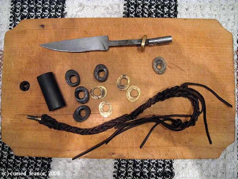 Как сделать гарду для ножа фото 494