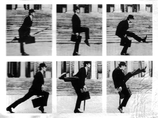 mistakes were made., officeslave6: ministry of silly walks ...