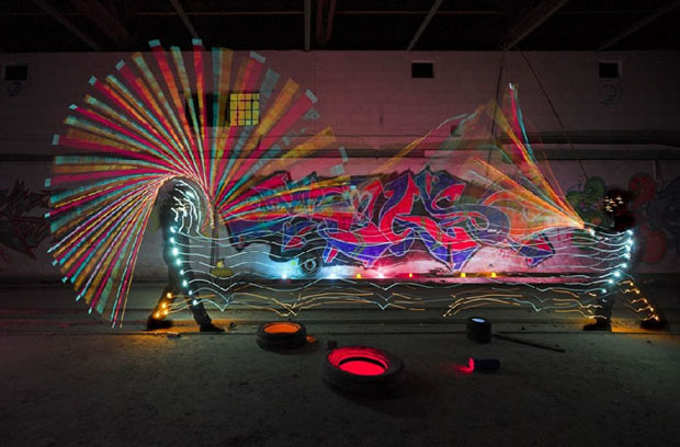 152 Light Art Performance Photography