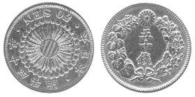 Монета с иероглифами без цифр севастополь крым купюра