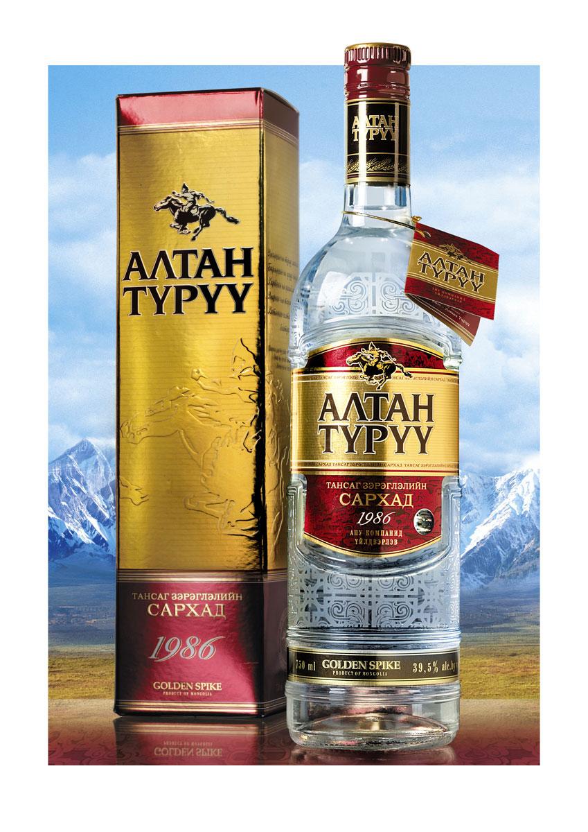 Монгольская водка