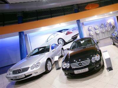 Продажи Mercedes-Benz в России выросли на 65%