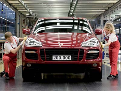 В Лейпциге выпустили 200 000-ый Porsche Cayenne