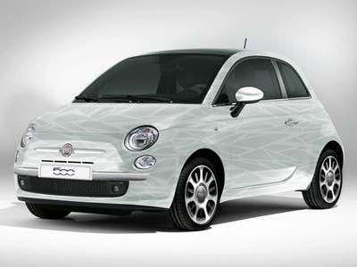 Ультразеленый концепт Fiat 500 Aria