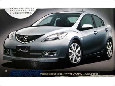 Mazda3 – главный кандидат на обновление