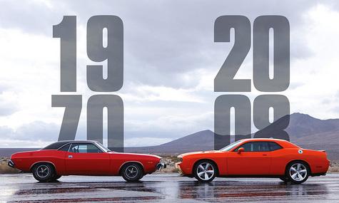 Dodge Challenger – возвращение из семидесятых