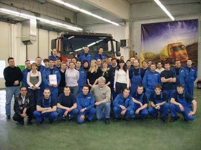 Российский завод Volvo отмечает 5-летие