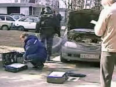Для взрыва Toyota использовали 150 гр. взрывчатки