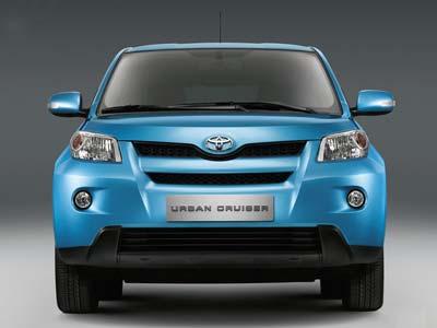 Toyota Urban Cruiser. Компактное городское будущее