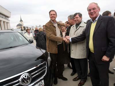 Руководство Volkswagen AG посетило завод в Калуге