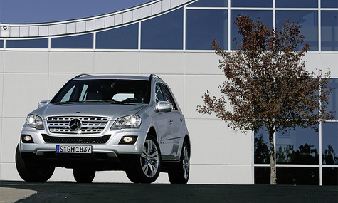 Mercedes-Benz ML выковали заново