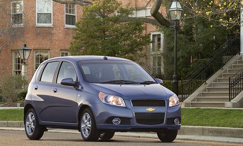 Новый Chevrolet Aveo появится в салонах в мае