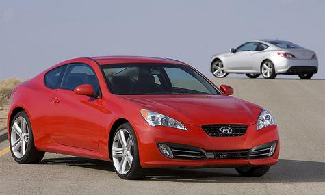Купе от Hyundai перешло на задний привод
