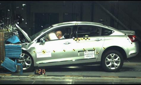Citroen C5 получил 5 звезд в крэш-тесте по EuroNCAP