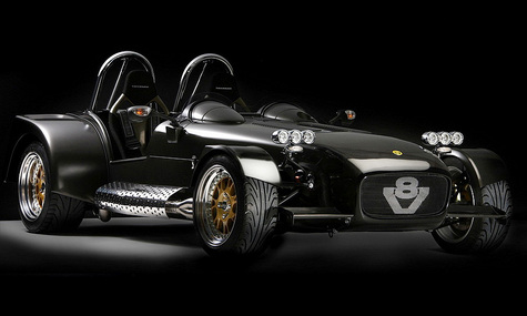 Компания Caterham создала аналог Bugatti Veyron