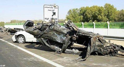 ДТП с 300 пострадавшими Абу-Даби - Дубай