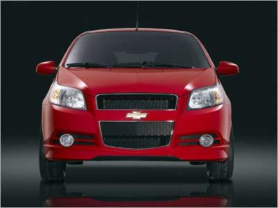 Chevrolet Aveo. Яркий малыш