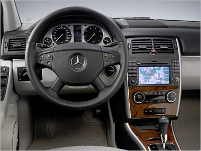 Mercedes-Benz B-Class. Новая энергетика