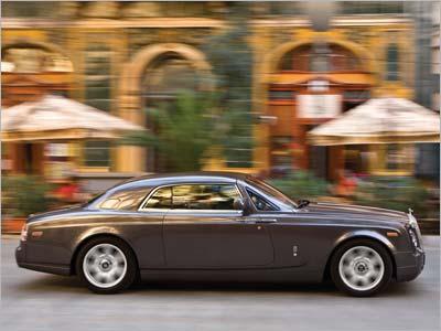 Rolls-Royce Phantom Coupe. Лимузин для водителя