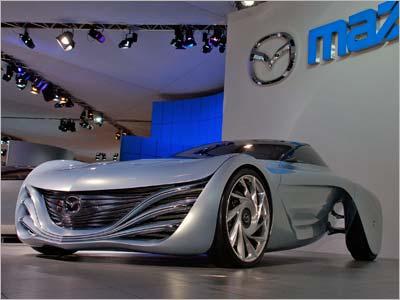 Mazda на автосалоне в Женеве