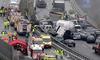 В Швейцарии столкнулись более 70 машин