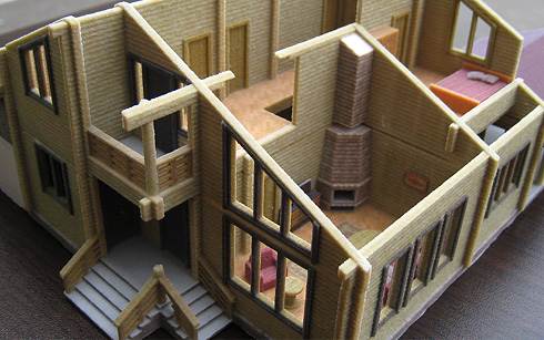 Архитектурные макеты своими руками фото