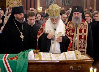 Прощание с Патриархом...