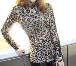 Блузка Леопард В Красноярске