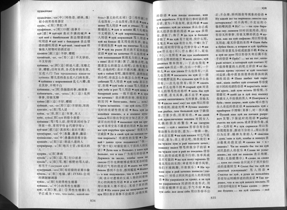 Сводный словарь популярного молодёжного сленга.