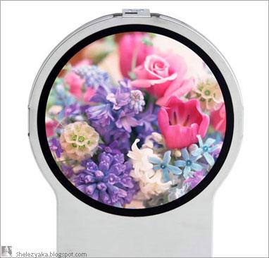 Круглый LCD-монитор от Toshiba